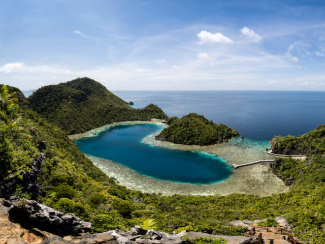 a place we visited with our cruise ship Coralia in Raja Ampat