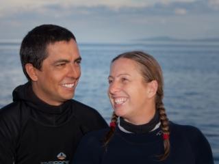 Debbie and Jerry - Cruise Directors Coralia Liveaboard