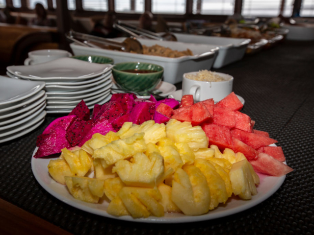 sample of our culinary buffet on Coralia Liveaboard Indonesia