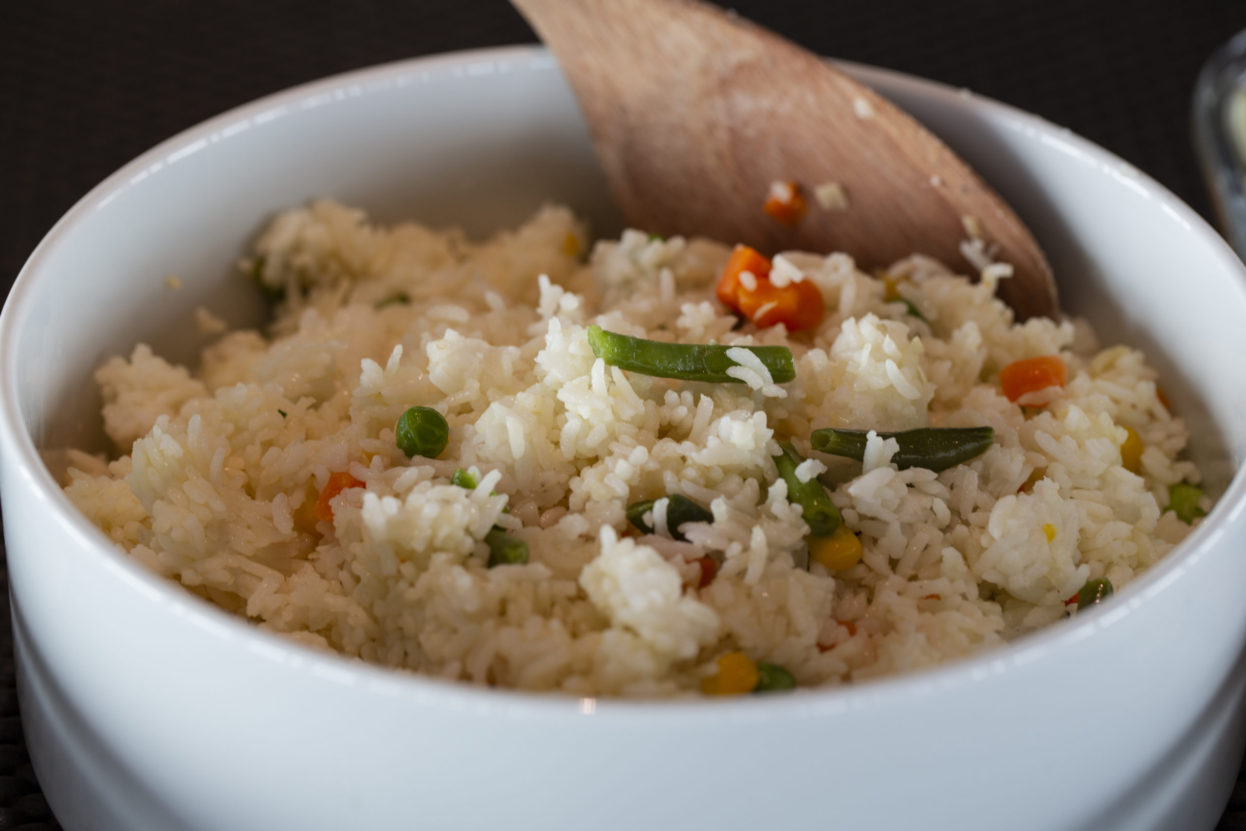 bowl of fried rice, another Coralia Liveaboard food favorite