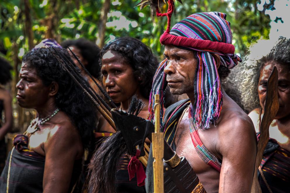Abui Tribe Alor Coralia Liveaboard Indonesia